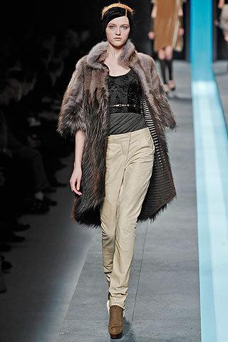 Fendi Medium Long Fur Coat