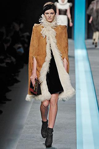 Fendi Long Suede Coat