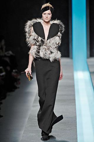 Fendi Short Extra Fine Fur Coat