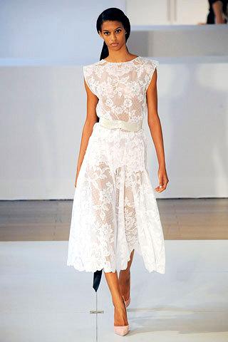See through Wedding Dress by Alex Mabille