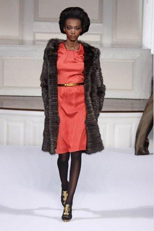 Oscar De La Renta Double Face Sable Fur Coat
