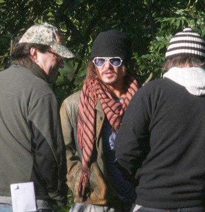 Johnny Depp is Working