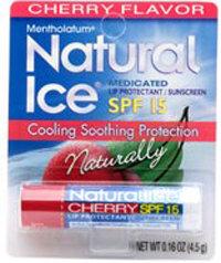 Mentholatum Natural Ice Medicated Lipbalm