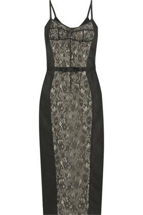 D&G Dolce & Gabbana Cotton-blend Lace Dress