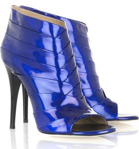 Giuseppe Zanotti Patent Leather Ankle Boots