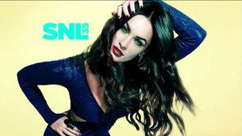 Megan Fox SNL Promo Shot