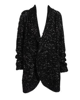 Clare Tough Cable Knit Coat