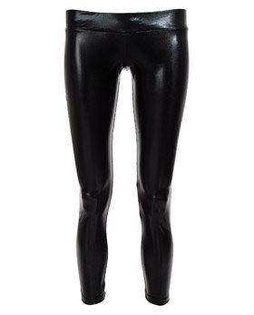 LNA Zip Back Latex Leggings