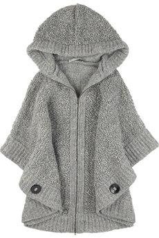 Stella McCartney Oversized Chunky Knit Cape