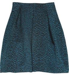 Emanuel Ungaro Wool-blend Tweed Skirt
