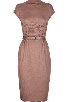 Bottega Veneta -Boned Cashmere Jersey Dress