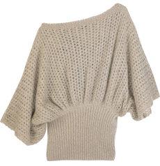 Fendi Mohair-blend Batwing Sweater
