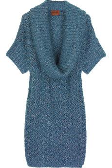 Missoni Wool-blend Cowl-neck Dress