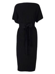 Giambattista Valli Black Knitted Dress