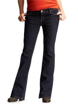 Gap Back Panel Boot Cut Jeans