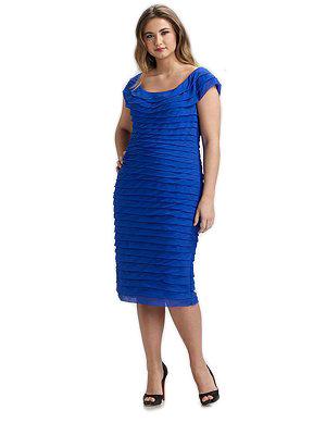 Silk Shutter Dress