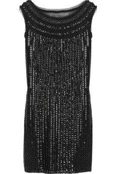 Philosophy Di Alberta Ferretti Sequin Embellished Mesh Dress