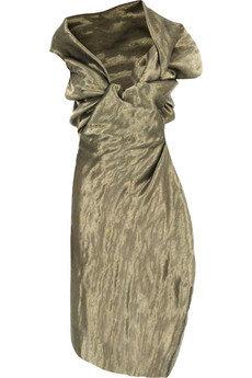 Vivienne Westwood Gold Label Opuntia Metallic Corset Dress