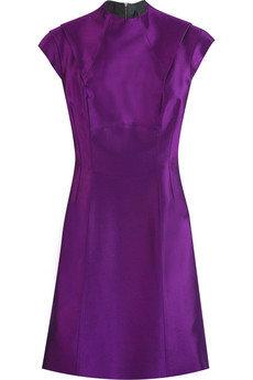 Victoria Beckham Briseux Silk Mini Dress