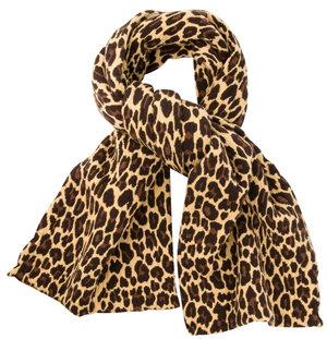Christopher Kane - Leopard Pattern Scarf