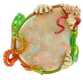 Dior Fine Jewelry. Idylle a Valparaíso Bracelet