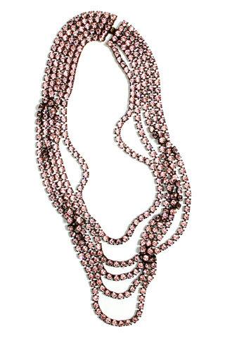 Janis by Janis Savitt. Crystal Necklace