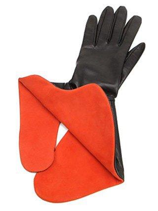 Jil Sander. Leather Glove