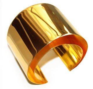 Taher Chemirik. 18K Gold Cuff