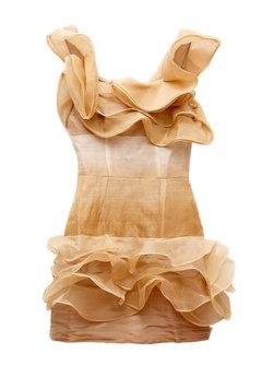 Nicola Finetti Swirl Cocktail Dress