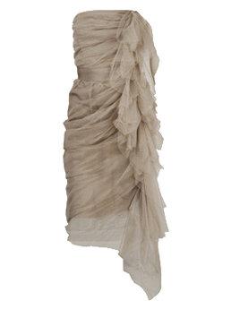 Lanvin Nude Dress