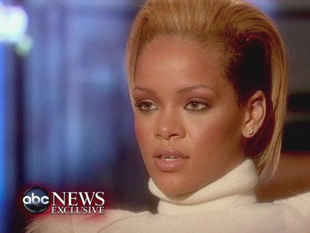 Rihanna on Good Morning America