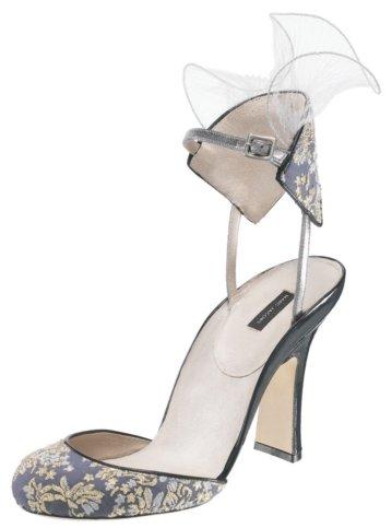 Marc Jacobs #MJ14464 – Floral Print Sling-Back Heel