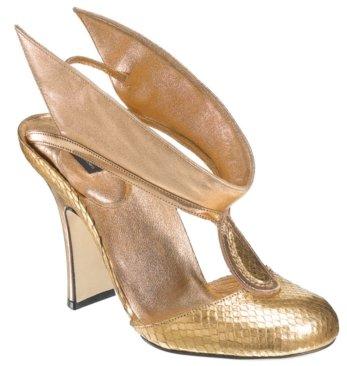 Marc Jacobs #MJ14453 – Gold Talaria Heel