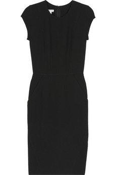 Wool-Crepe Shift Dress