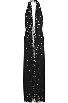 Issa Printed Silk Jersey Dress