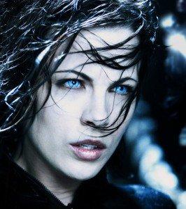 Kate Beckinsale as Selene in Underworld & Underworld:Evolution