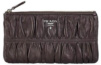 Prada Flat Clutch with Zipper