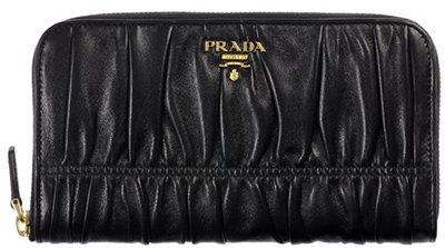 Prada 4-Compartment Wallet