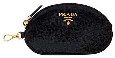 Prada Coin Purse with Snap-Hook