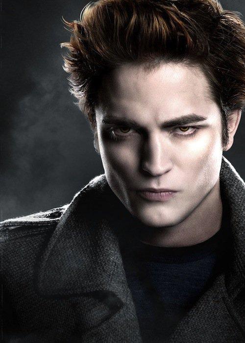 Robert Pattinson as Edward in Twilight