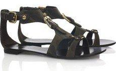 Giuseppe Zanotti Camouflage Leather Sandals
