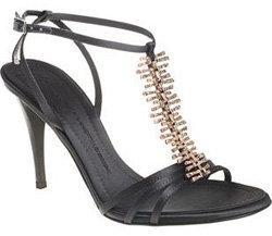 Giuseppe Zanotti Jeweled T-Strap Sandal