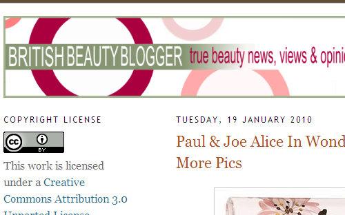 British Beauty Blogger