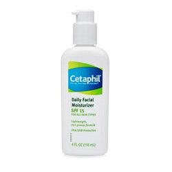 Cetaphil Daily Facial Moisturizer, SPF 15, Fragrance Free