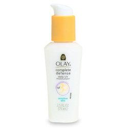 Olay Complete Defense Daily UV Moisturizer SPF 30, Sensitive Skin