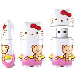 Hello Kitty Teddy Bear USB Flash Drive