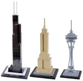 Legos Landmark Towers