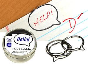 Talk Bubble Clips