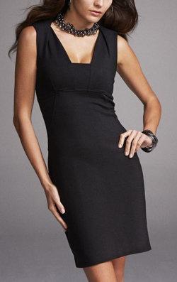 Express: Sleeveless Shift Dress