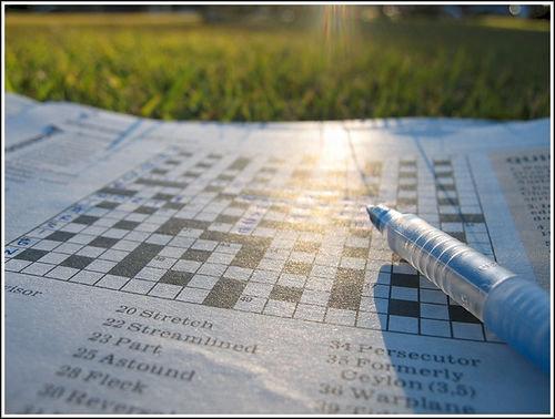 Do a Crossword